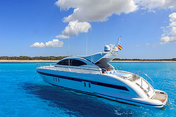 Motor Boat and Yacht Charters in Ibiza